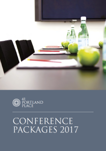 Conference Packages 2016